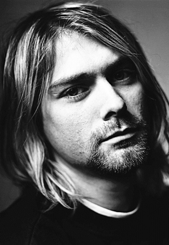 27 Jan 1994 --- Kurt Cobain of Nirvana --- Image by © Mark Seliger/CORBIS OUTLINE